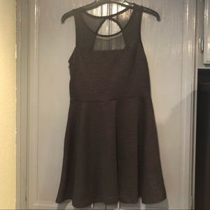 Poof Couture Black Dress